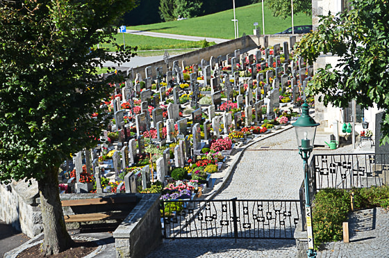 Friedhof Kopfing alt & neu September 2017