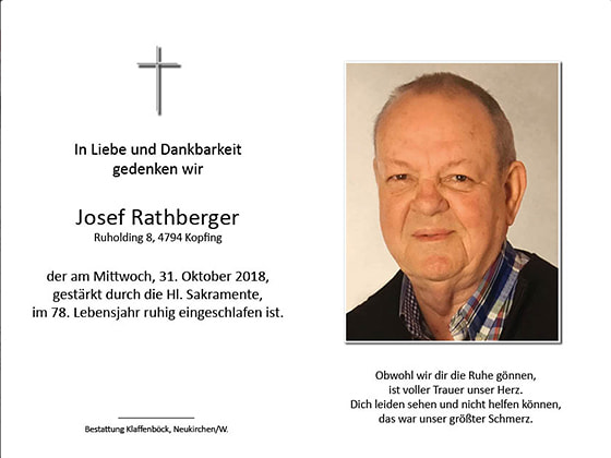 Josef Rathberger